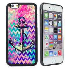 Anchor Chevron Silicone Case for iPhone 4s 5 5S SE 5C 6 6S Plus Cell Phone Cover