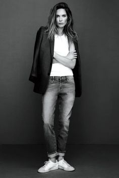 Erin Wasson is the picture of everyday cool in Frame Denim's newest lookbook. // #ErinWasson #fashion #denim