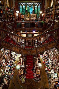 Livraria Lello in Portugal