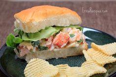 Sweet Hawaiian Lobster Roll   EricasRecipes.com