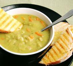 Crockpot pea and ham soup 296 Calories