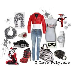 Harley out and About, created by harley-quinn-1.polyvore.com