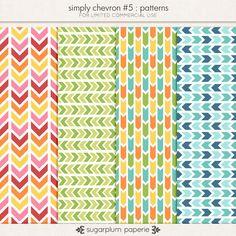 Simply Chevron #5 : Patterns