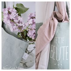 Fette Beute als Shopping Bag und Poesietuch aus unserer Lieblinge. Kollektion posted by @Sharelookhomes