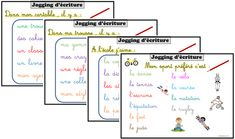 JOGGING D'ECRITURE CE1 • ReCreatisse Cycle 3, Teaching French, Writing, Learning, School, Completer, Crazy Hair, Portrait, Readers Workshop