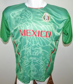 MEXICO SOCCER JERSEY T-SHIRT DRAKO FÚTBOL ONE SIZE L FOOTBALL WORLD CUP 2014 #Drako #soccershirts #soccerjerseys #fifaworldcup #football #soccer #worldcup2014 #mexico
