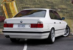 1991 BMW E34 525i Tuner Turbo M5 For Sale Rear
