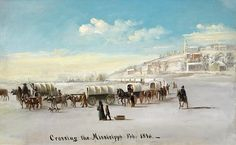 Nauvoo Temple LDS Art Historic christiansen mural crossing the mississippi Nauvoo Temple, Temple Lds, Lds News, Temple Pictures, Lds Art, Lds Temples, Latter Day Saints, Photo Art, Around The Worlds