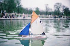 sail a little boat.