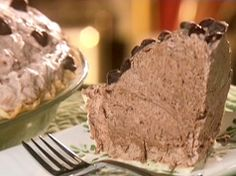 Frozen Chocolate Mousse Pie from FoodNetwork.com