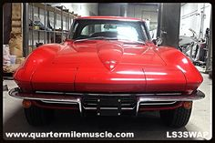 67 Corvette with a New LS3 Crate Engine. Classic Car Restoration North Carolina by Quarter Mile Muscle Inc. www.quartermilemuscle.com #ClassicCars #LSSwap #NorthCarolina