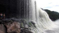 Salto Sapo - vista frente - Canaima - Venezuela - Viagem com Sabor