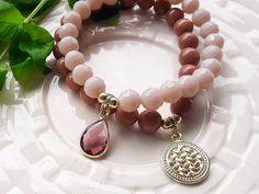 Bracelet Set SALE 50% off coupon MODO2016, Beaded Bracelet Set for Woman, Valentine Gift, Mother's Day Gift, Birthday Gift, Gift for Women by modotikon on Etsy