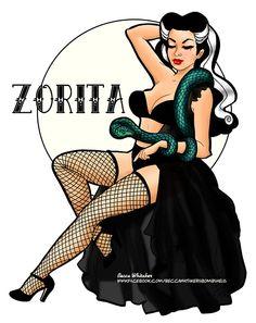 I Love Pin-ups - beccasbombshells: The charming burlesque queen...