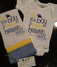 Burp and onesie $35 Order: bethbier@aol.com facebook.com/SpecialJEMsbyBeth