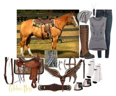 """""""golden boy"""" by haylee-borthwick ❤ liked on Polyvore featuring Yves Saint Laurent, Ariat, Converse and True Religion"""