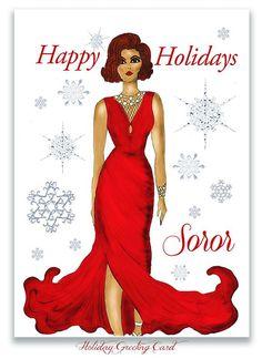 Happy holidays Sorors!