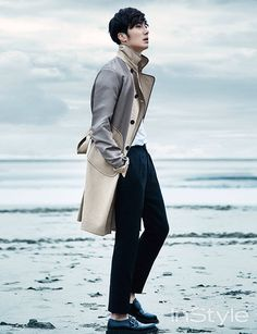 Jung Il Woo, InStyle, March 2015, Normandy