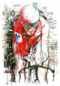 Chris Froome wins Stage 16 ITT Vuelta a Espana 2017 by Horst Brozy
