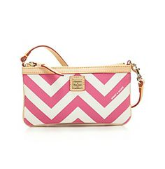 Don't really care for Chevron too much but this is cute! Dooney & Bourke® Large Slip Wristlet