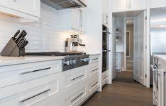 Projects | Rochelle Cote. Kitchen. From the Lake Residence.