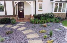 Slate Garden, Gravel Garden, Garden Paths, Driveway Paving, Google Images, Stepping Stones, Garden Design, New Homes, Purple