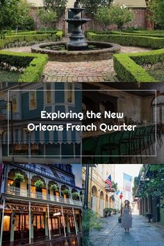 New Orleans French Quarter Travel Guide - The Motivated Millennial #NewOrleans #roadtrip #NOLA New Orleans French Quarter, Travel Guide, Road Trip, Explore, Mansions, House Styles, Luxury Houses, Palaces, Mansion