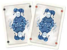 Blue Blood Playing Cards #piel #shoppiel #inspiration