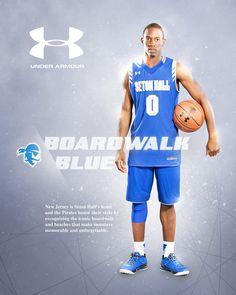 SHU Men's Basketball Under Armour Ads on Behance
