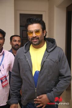 R. Madhavan at Celebrity Badminton League