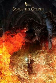 Smaug the Golden Hobbit Hole, The Hobbit, Movies To Watch, Good Movies, Epic Art, Por Tv, Middle Earth, Lord Of The Rings, Tolkien