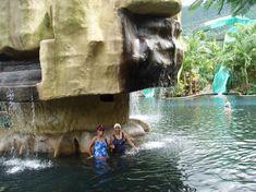 Hot Springs at Arenol Volcano - San Jose, Costa Rica