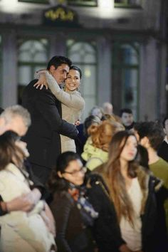 Josh Murray and Andi Dorfman Dance at the American Young Concert in Episode 7