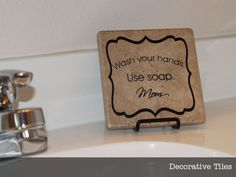 tile crafts with vinyl - Bing Images