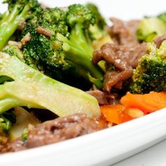 Stir-Fried Beef and Broccoli. Delicious broccoli beef! I used a .65 lb. New York bc it was all TJs had, yum.