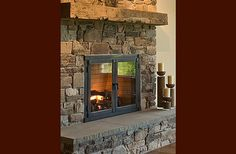 """rustic Fireplace"" Design Ideas, Pictures, Remodel, and Decor - page 29"