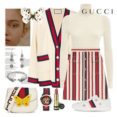 Gucci on the street Boujee Outfits, Gucci Outfits, Kpop Fashion Outfits, Stage Outfits, Girly Outfits, Cute Casual Outfits, Polyvore Outfits, Pretty Outfits, Stylish Outfits
