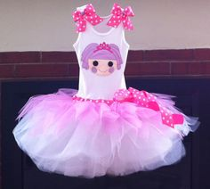 For Mallorie's Lalaloopsy Carnival Birthday Party!  Lalaloopsy tutu dress Jewel Sparkles by ChasenLondon on Etsy, $65.00