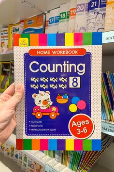 We stock the most-loved counting books for kids. 1,2,3 and they'll recognise numbers, and match numerals with objects around them in no time...there's many more from where this came from!😉 Counting Books, Simply Home, Art And Craft Materials, Number Words, Stationery Shop, Sign I, Numbers, Arts And Crafts, Objects