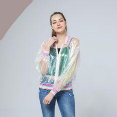 Rainbow Symphony Hologram jacket