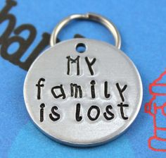 Custom Aluminum Pet ID Tag  Personalized Dog or by critterbling, $11.00
