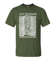 Joy Division Unknown Pleasures Graphic Tee