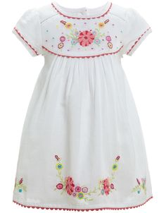 Embroidered Dress from Monsoon in the Fayette mall!