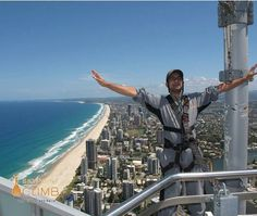 """824 Likes, 11 Comments - Mi Gold Coast ☀️🇦🇺🐬 (@migoldcoast_) on Instagram: """"SkyPoint Climbis a must-do Gold Coast adventure 🌇🌅 #skypoint #climb #adventure #fun #view #awesome…"""""""
