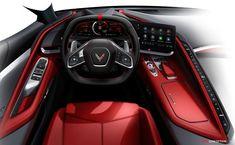 2020 Chevrolet Corvette Unveiled As Mid-Engine Rocket Chevrolet Corvette Stingray, Hd Wallpaper, Wallpapers, Dual Clutch Transmission, Images Google, Cute Cars, Super Sport, General Motors, Automotive Design