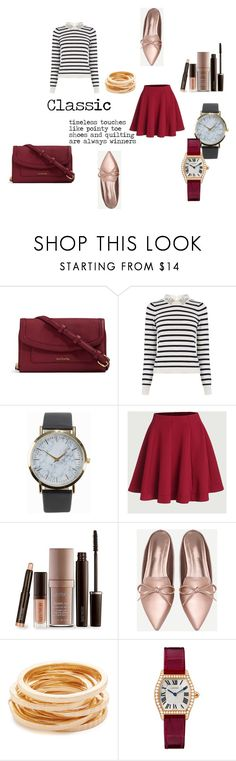 """""""Classic"""" by lost-in-wonderland9008 ❤ liked on Polyvore featuring Vera Bradley, Oasis, NLY Accessories, Laura Mercier and Kenneth Jay Lane"""