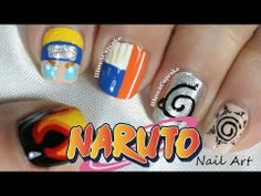 ▶ Naruto Nail Art - YouTube. Pinning For The Pinky Nail Only