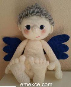 Bütün bebekler melek değil midir aslında, bir tek kanatları eksik. Bizde kanatları olan bir melek bebek örelim dedik. Tarifi aşağıda, ördükten sonra bebeklerinizin resimlerini bizimle paylaşmayı un…