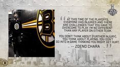 Bruins Hockey, Boston Bruins, Challenges