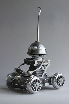 Found Object Robot Assemblage Sculpture By Brian Marshall | by adopt-a-bot